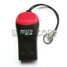 5Stk USB 2.0 Kartenlesegerät Micro SD SDHC TF M2 Kartenleser Adapter Card Reader