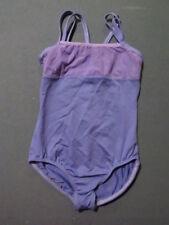 Motionwear Gymnastics Dance Acro Leotard Child Medium 8-10 Lavender
