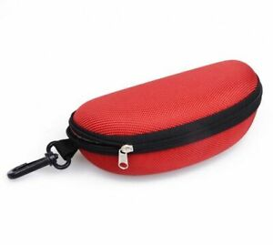 Sunglasses Reading Glasses Carry Bag Hard Zipper Box Travel Pack Pouch Case New