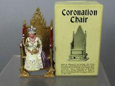 VINTAGE BRITAIN'S MODEL No.86d 1952 CORONATION CHAIR & QUEEN ELIZABETH  VN MIB