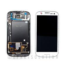 Samsung Galaxy S3 I747 T999 White LCD Digitizer w/ Frame Assembly NO LOGO USA