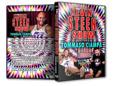 The Kevin Steen Show with Tommaso Ciampa DVD, PWG ROH Ring of Honor WWE OVW TNA