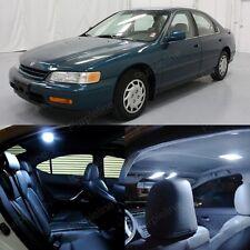 10 x Super White LED Lights Interior For Honda ACCORD 1994 - 1997 Coupe Sedan