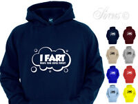 I FART WHAT'S YOUR SUPERPOWER? FUNNY HOODY BOYS HOODIES KIDS CHILDRENS