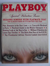 SUZANNE SOMERS' NUDE PLAYMATE TEST Vintage FEBRUARY 1980 PLAYBOY Magazine