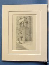 NORFOLK NORWICH CASTLE COURTYARD BIGOD'S TOWER VINTAGE