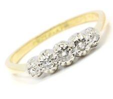 ♦ 18kt 750 Damen Brillant Gold Platin Ring Brillantring Brilliant Brillanten ♦