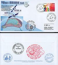 "VA203LT1 FDC KOUROU ""ARIANE 5 ECA Rocket - Flight 203 / ASTRA 1N / GAGARIN"" 2011"