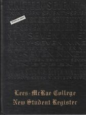 LEES-McRAE COLLEGE, CLASS OF 1977 FRESHMAN YEARBOOK, BANNER ELK, NC