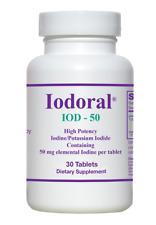 Iodoral - IOD-50 - 90 Tablets - High Potency Iodine/Potassium Iodide