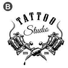 Tattoo Shop Studio Wall Stickers Cool Decal Vinyl Art Advertising Retail & Shops