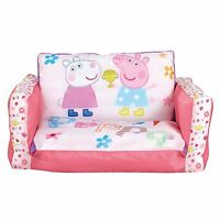 PEPPA PIG FLIP OUT INFLATABLE SOFA KIDS ROOM NEW FREE P+P 100% OFFICIAL