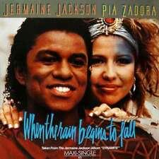 "Jermaine Jackson & Pia Zadora When The Rain 12"" Maxi Vinyl Schallplatte 184026"