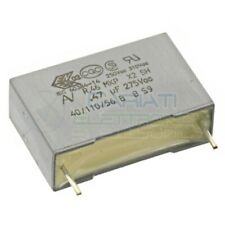 Condensatore polipropilene 1uF 1 uF 400Vdc 200Vac MKP Passo 22.5mm 5/%