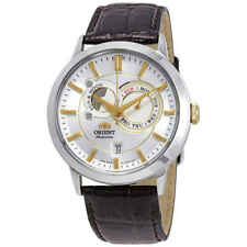 Orient Classic Sun And Moon Automatic Silver Dial Men's Watch FET0P004W0