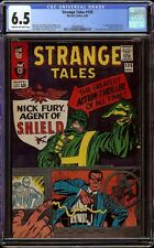 Strange Tales # 135 CGC 6.5 CRM/OW (Marvel, 1965) 1st Nick Fury Agent of Shield