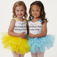 NWT Wolff Fording Organdy 3 Layer Tutu Ballet Girls/ladies Copen Yellow ch/ladi