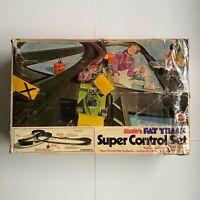 Hot Wheels Redline Sizzlers Fat Track Super Control Set Empty Box 1972 No Parts