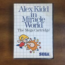 SEGA MASTER SYSTEM - ALEX KIDD IN MIRACLE WORLD GAME