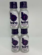 (4) VPX Bang Shot World's First Carbonated Energy Bangster Berry (3fl...