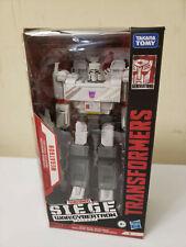 Transformers War for Cybertron Siege 35th Anniversary Animation Megatron MIB