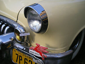 NEW PAIR OF VINTAGE STYLE FENDER VISOR EXTENSIONS !