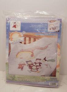 Janlynn Baby The Land of Milk Honey Cross Stitch Kit Quilt Size 34x43