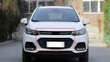 For Chevrolet Trax Tracker 2017 Upper Lower Front Bumper Mesh Grille Grill 2PCS