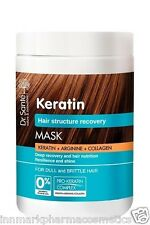 35445 Mask Keratin deep recovery and hair nutrition 1000ml Dr.Sante