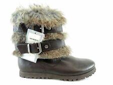 Miss Sixty justine botas señora botas botines zapatos de piel Shoes talla 37