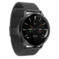 Waterproof Smart Watch GPS Heart Rate Blood Pressure Monitor for iOS Android