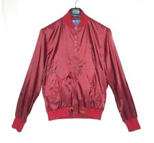 YMC You must create mens bomber jacket wine red coat city M