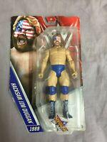 "WWE Action-Figur Hacksaw Jim Duggan im ""SummerSlam 89""-Look - Mattel DTF84 Ovp"