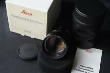 Leica Summicron - M 90mm F2, Boxed with documents perfect like new