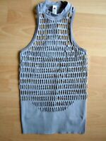 ADIDAS Stella McCartney Warp Tanktop Netz-Look Fitness Gym Woman Gr 36 NEU