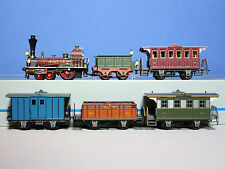 Marklin 26471  Locomotive vapeur LIMMAT fourgon et voitures des CFF en digital