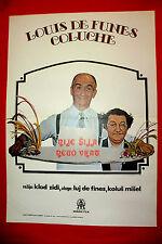 L'AILE OU LA CUISSE 1976 LOUIS DE FUNES COLUCHE CLAUDE ZIDI EXYU MOVIE POSTER