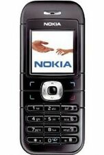 BLACK NOKIA 6030 MOBILE PHONE-UNLOCKED WITH NEW UK HOUSE CHARGAR AND WARRANTY