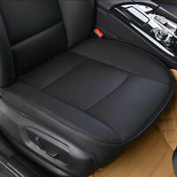 3D Universal Auto Sitzkissen Vorne Sitzauflage Atmungsaktiv Sitzmatte PU Leder