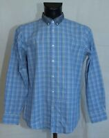 MENS BEN SHERMAN SHIRT LONG SLEEVE SIZE L VGC