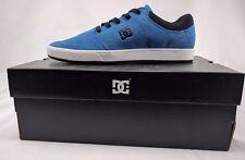 DC Shoes Crisis Men US 9.5 Bright Blue Skate Shoe ADYS100029