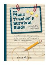 The Piano Teacher's Survival Guide Learn Teach Reference Guide Tool MUSIC BOOK