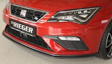 Rieger CUP Spoilerlippe für Seat Leon Cupra FR FL Frontspoiler Spoilerschwert