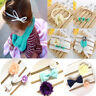3Pcs/1Set Baby Girls Headband Hair Band Infant Toddler Flower Bow Accessories