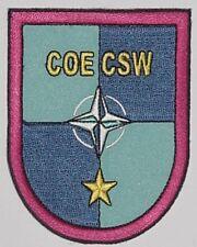Aufnäher Patch Abzeichen NATO COE CSW ...........A3820