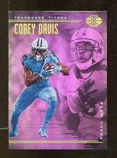 2018 Illusions COREY DAVIS Randy Moss #43 Tennessee Titans (CT9)