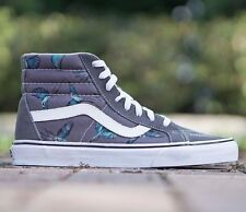 VANS SK8 Hi Reissue (Dirty Bird) Pewter/True White Men's Skate Shoes SIZE 11