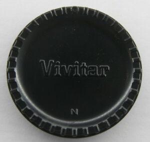 Vivitar for Nikon F Mount Body Cap - Vivitar - USED E43X