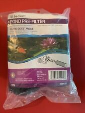 New Beckett Pond Pre-Filter Kit Model 7209410 2-pack with Plastic Inserts