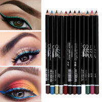 12 Pcs Cosmetic Makeup Eyeliner Eye Lip Liner Eyebrow Pencil Pen Beauty Set